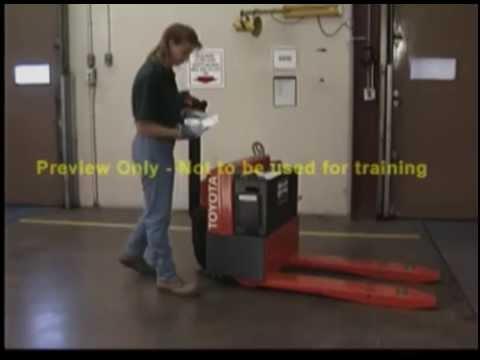 SAFE LIFT Pallet Jack Training Kit 614 583 5749