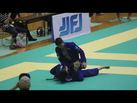 ヒクソン杯2016 オープンクラス1回戦 ハファエル・メンデス選手(AOJ) VS 平尾悠人選手(X-TREME柔術アカデミー)