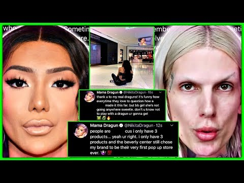 Nikita Dragun RESPONDS To Jeffree Star Not Paying Her Rent thumbnail