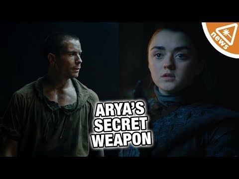 GAME OF THRONES: What Secret Weapon Is Gendry Building for Arya?!? (Nerdist News w/ Jessica Chobot)