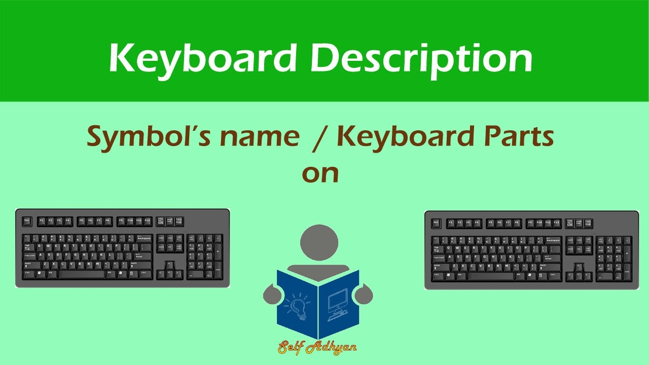 Computer KeyBoard Symbols Explanation | Computer Symbols Learn in Hindi