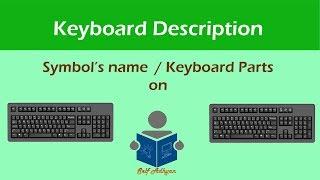 Computer KeyBoard Symbols Explanation   Computer Symbols Learn in Hindi