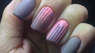 Горизонтальный градиент легко! Экспресс дизайн ногтей. Легкий дизайн ногтей. Обзор гель-лаков Oxxi