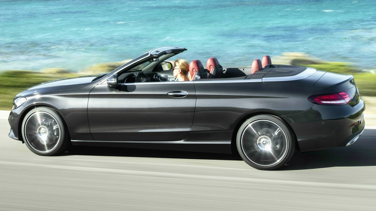 2019 Mercedes C Class Cabriolet Rear Biased Agile And Even Sportier Now