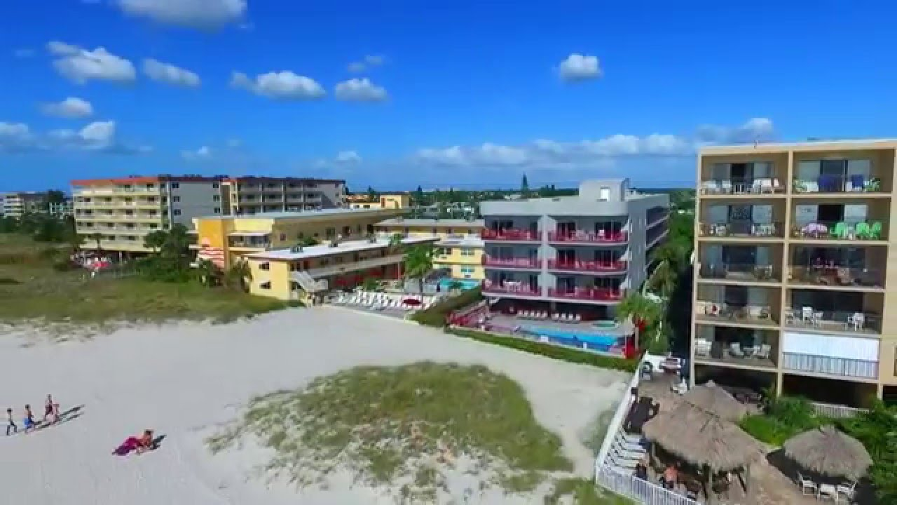 Surf Song Resort Madeira Beach Drone Video You