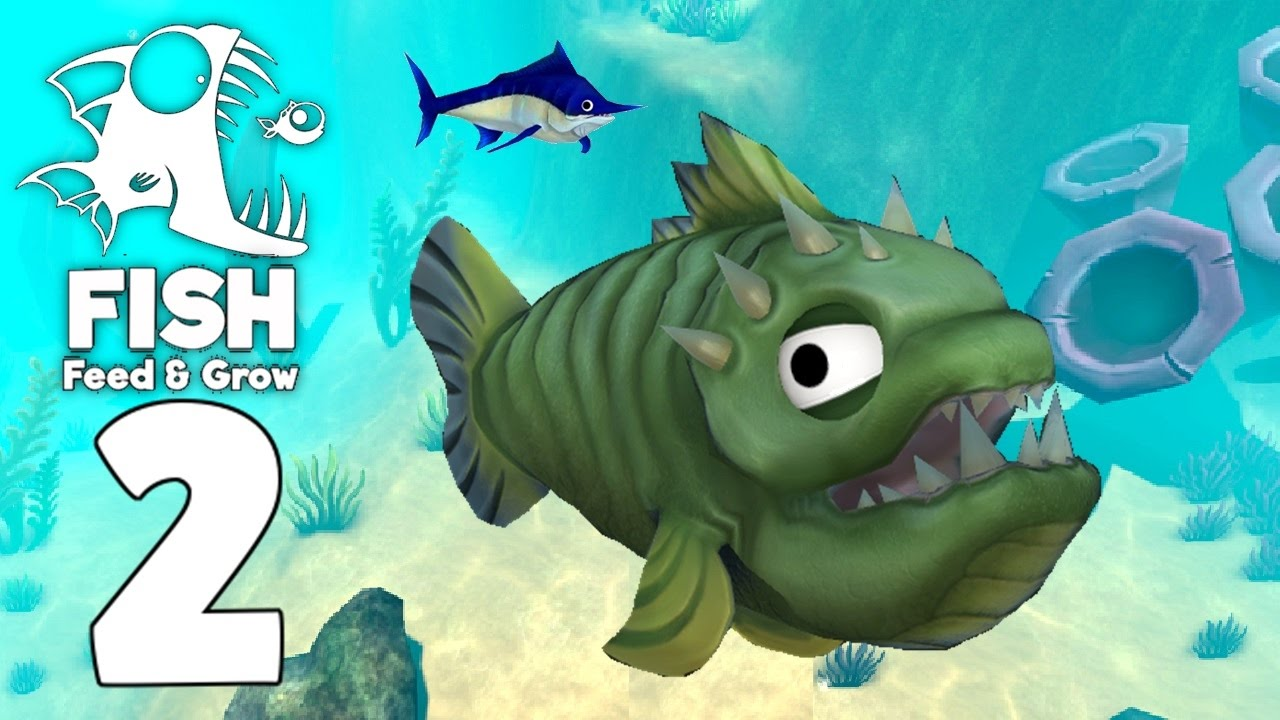 Hunted by swordfish feed and grow fish gameplay part for Fed and grow fish