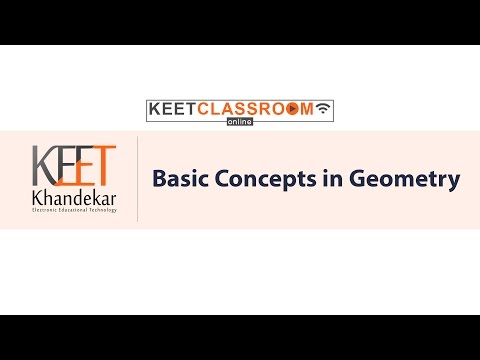 Basic Concepts in Geometry