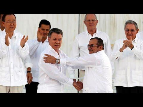 Colombian president awarded Nobel Peace Prize