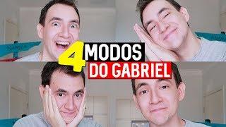 4 MODOS DO GABRIEL - VOCÊ CONHECE? | MMB