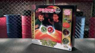 Beyblade Hyperblade Tops: Hyper-Strike Battle Set Demo