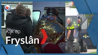 KIJK OP FRYSLÂN: Witwaszaak in Leeuwarden, fietselfstedentocht