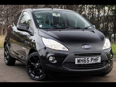 used ford ka 1 2 zetec black edition 3dr hatchback youtube. Black Bedroom Furniture Sets. Home Design Ideas