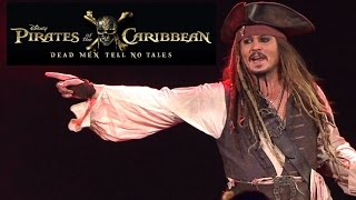 Pirates of the Caribbean: Dead Men Tell No Tales D23 Panel Presentation (HD) Johnny Depp 2017