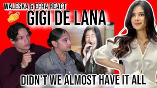 """Download Waleska & Efra react to Gigi De Lana-""""Didn't We Almost Have it All"""" Whitney Houston LIVE COVER 🤯👌"""