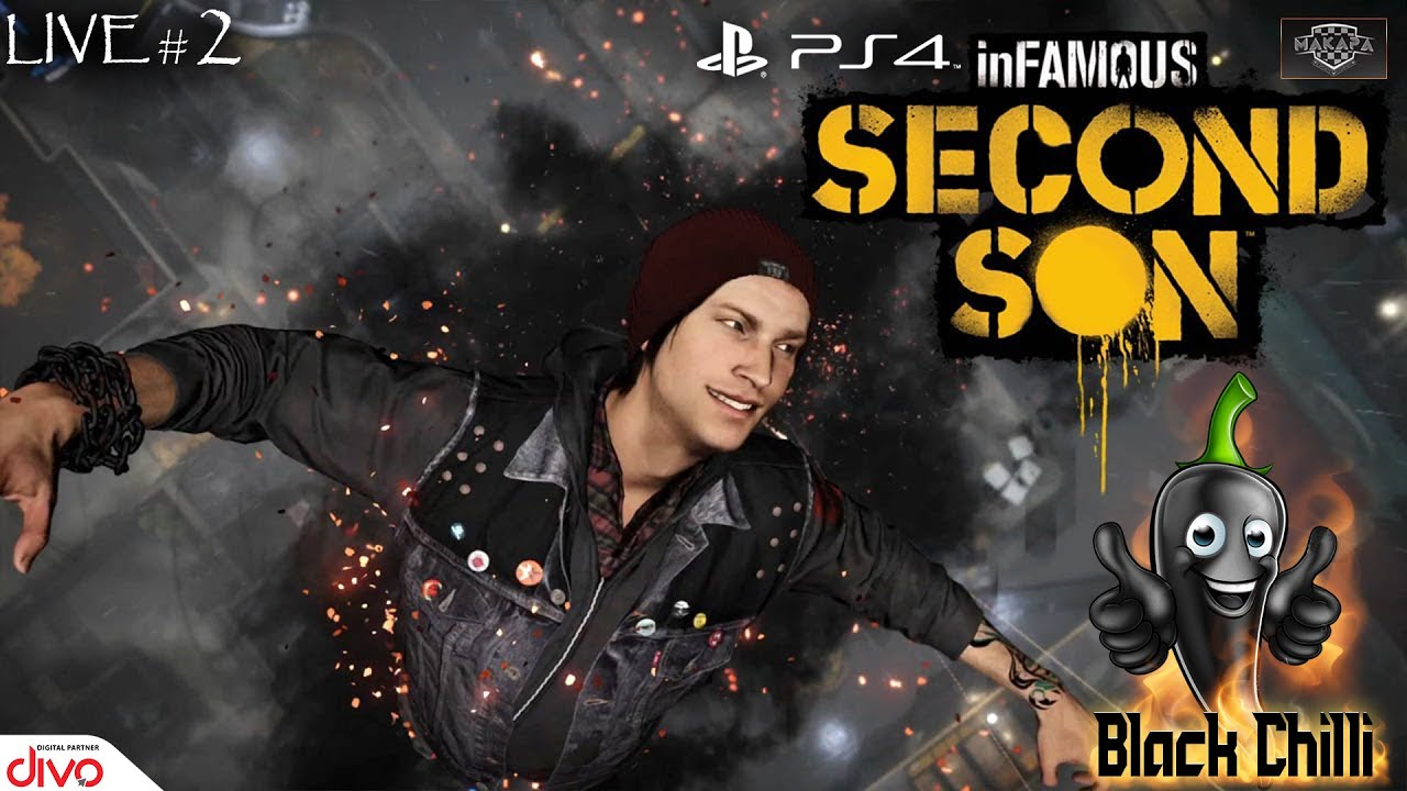 🔴 InFamous Second Son -  PS4 Live #02 Tamil With Makapa Esports Company🔴 | Ps4 Gaming🎮 Tamil