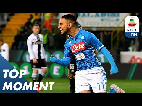 Ounas completes the scoring at the Tardini | Parma 0-4 Napoli | Top Moment | Serie A