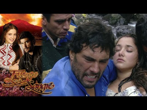 Fernando le arrebata la vida a Libia | Fuego en la sangre - Televisa