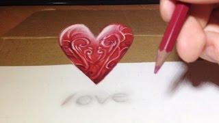 Comment dessiner un cœur 3D [Tutoriel]