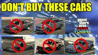 DON'T BUY THESE CARS In GTA 5 Online Future Podium Cars