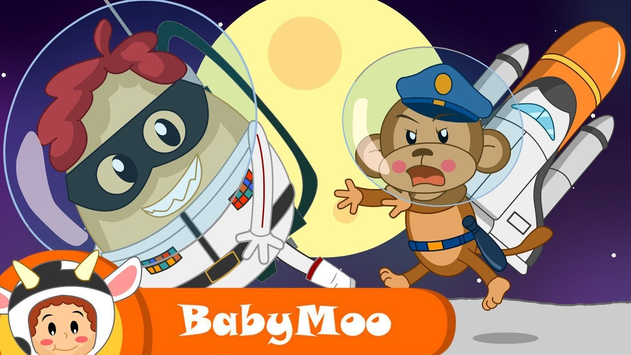 The Moon Song   Fun and Learn   Original BabyMoo Songs For Kids