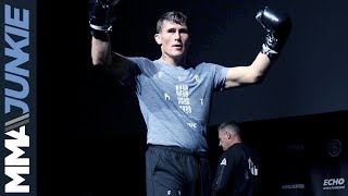 Darren Till open workout for UFC Liverpool