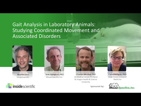 Gait Analysis in Laboratory Animals: Studying Coordinated Movement and Associated Disorders