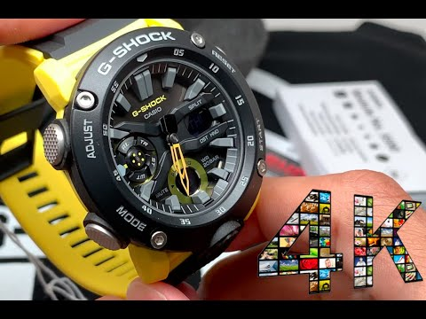 G-shock Carbon Core Guard GA2000 NEW MODEL Thorough Review! IN 4K RES