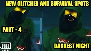 *NEW* GLITCHES & SURVIVAL SPOTS TO SURVIVE FROM ZOMBIES IN EVOGROUND DARKEST NIGHT MODE PUBG MOBILE