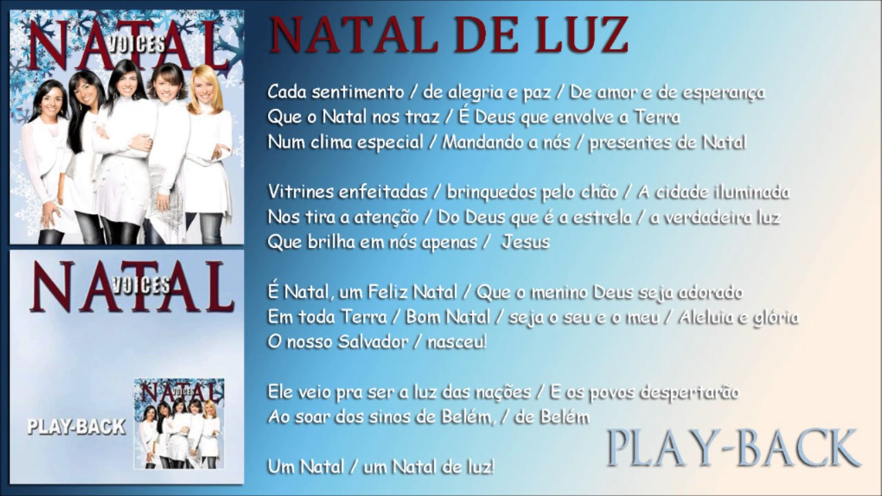 natal de luz voices playback