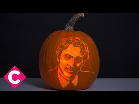 How to carve a Justin Trudeau pumpkin