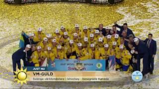 Sverige tog hem VM-guldet: