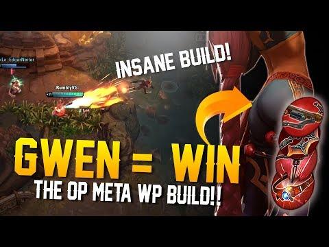 GWEN = WIN! OP BUILD! Vainglory 5v5 Gameplay - Gwen |WP| Bottom Lane Gameplay