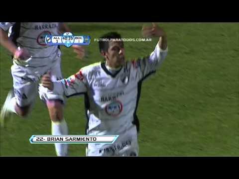 Gol de Sarmiento. All Boys 3 - Boca 1. 8vos. de Final. Copa Argentina 2012/2013. FPT