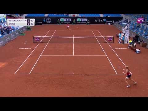 2017 Istanbul Cup Day 4 | Shot of the Day | Cagla Buyukakcay