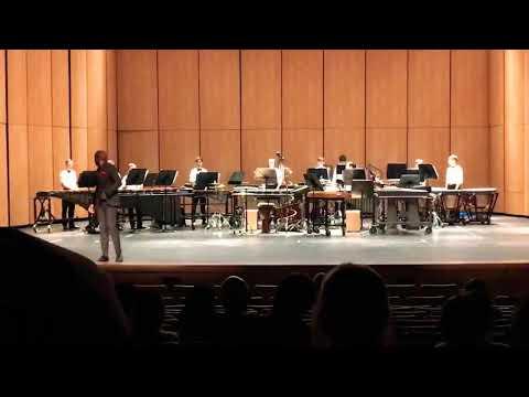Faubion Middle School Symphonic I Percussion Ensamble