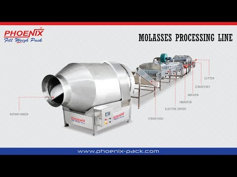 TOBACCO / MOLASSES / SHISHA PROCESSING LINE MACHINES