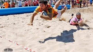BARCELONA BEACH RUGBY FIVE 2016 DAY 1