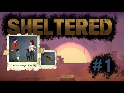 Sheltered #1 : Creating a family to survive in the shelter || Game Introduction /Tutorial ||