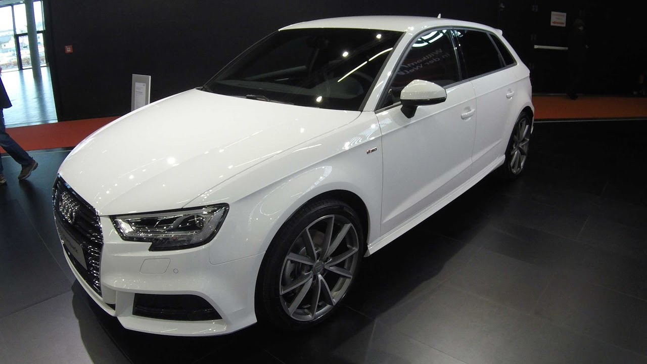 audi a3 sportback s line ibis white colour. Black Bedroom Furniture Sets. Home Design Ideas
