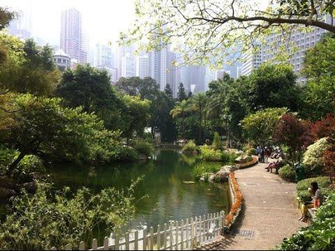 A Stroll Around Hong Kong Park