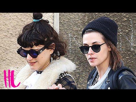 Kristen Stewart Kisses Her New Girlfriend - VIDEO