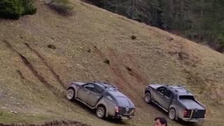 Mitsubishi L200 and Nissan Frontier - Harmancık Yaylası TIrmanma Alanı - Çotanak Off Road Giresun
