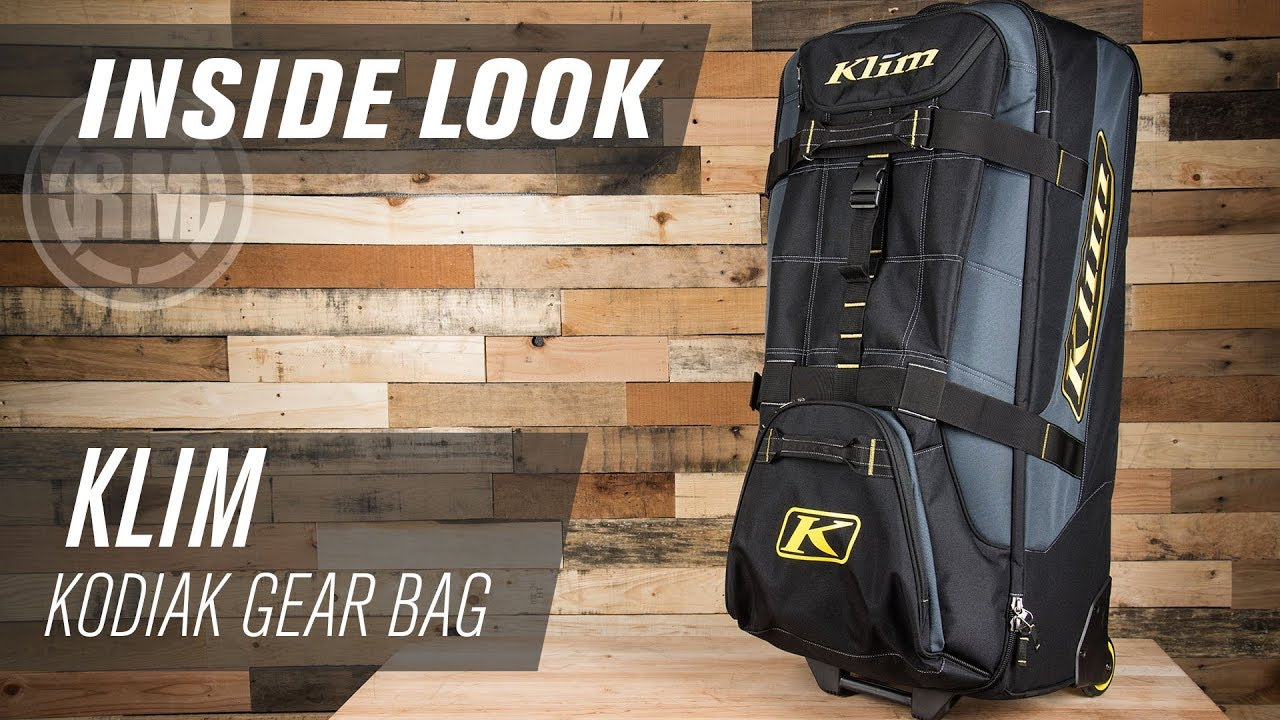Klim Kodiak Motocross Gear Bag Inside Look