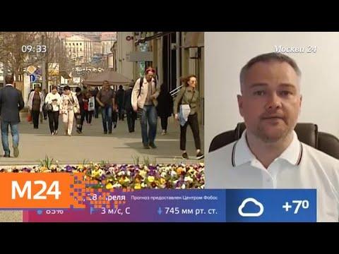 Солнечную и прохладную погоду обещают москвичам в воскресенье - Москва 24