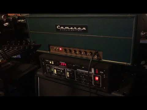 Mark Cameron custom Aldrich Amp Wet w/slight reverb