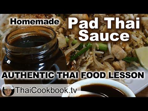 Authentic homemade pad thai sauce recipe youtube authentic homemade pad thai sauce recipe forumfinder Choice Image