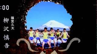 NHK朝ドラ「てっぱん」のオープニング出演。 中盤の黄色い集団。 でも、...