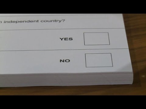 Scotland votes on independence from UK