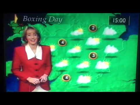 ITN News, ITV National Weather, Central Weather Christmas Day 1996 thumbnail