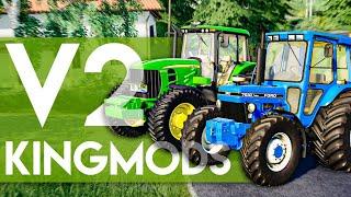 KINGMODS V2 & NOUVELLE SELECTION DU ROI ! (FARMING SIMULATOR 19)